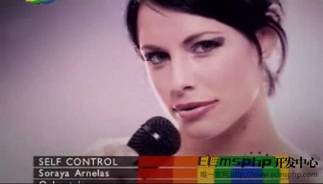 帝国cms视频插件:Soraya.Arnelas经典舞曲SelfControl