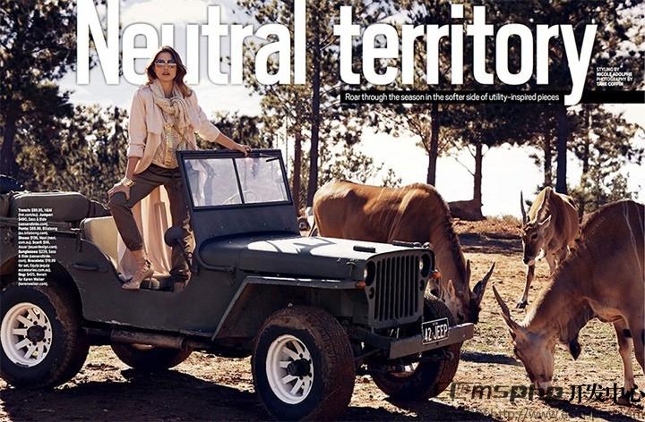 帝国cms图集插件:Elena Muller《Cosmopolitan》杂志封面写真大片曝光(4)