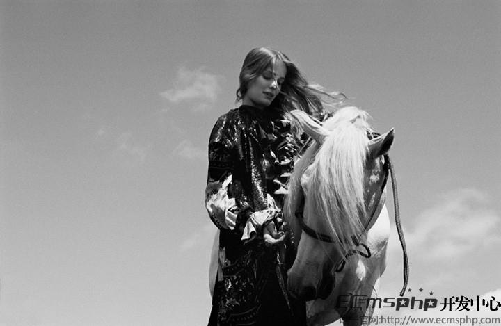 帝国cms图集插件:超模Alisa拍摄杂志主题大片演绎户外风尚(1)