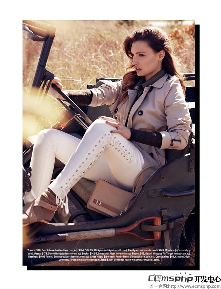 帝国cms图集插件:Elena Muller《Cosmopolitan》杂志封面写真大片曝光(5)