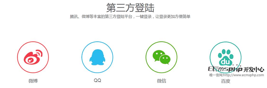 帝国cms7.5版本移动端第三方登录整站源码模板,包含微博,QQ,微信,百度账号登录功能模板