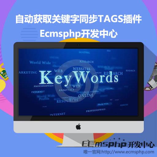 帝国CMS插件:自动获取关键字同步TAGS插件